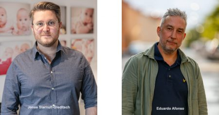 Jonas och Eduardo Pride 2021 Nordic Surrogacy 2