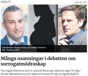 Många osanningar i debatten om surrogatmödraskap - Nordic Surrogacy