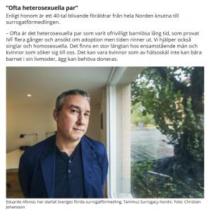 Mitti - Surrogatförmedling på Söder väcker känslor - Nordic Surrogacy