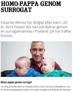 QX.se - Pappa genom surrogatmamma - Nordic Surrogacy