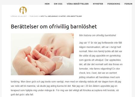 Surrogat.nu - Berättelser om ofrivillig barnlöshet - Nordic Surrogacy