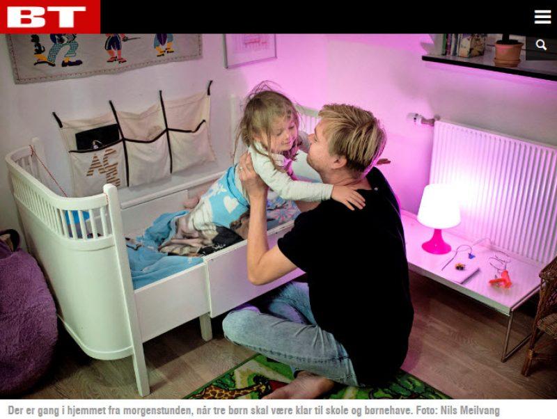 BT.dk - Mikkel och Kjartan beslutade sig för att hitta en surrogatmamma i USA - Nordic Surrogacy