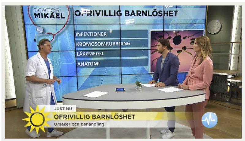 Ofrivillig barnlöshet - Dr Mikael i TV4 om problemet - Nordic Surrogacy