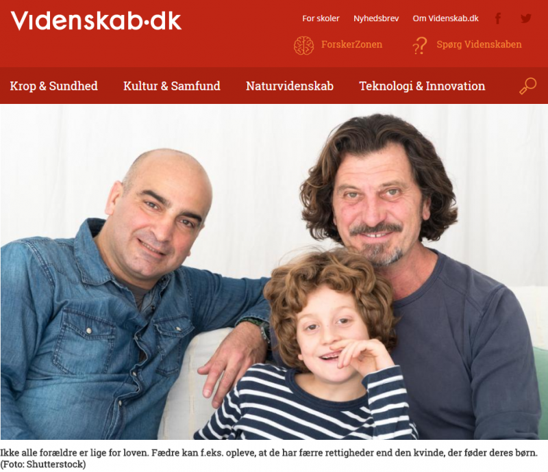 Dansk lov diskriminerer alternative familier