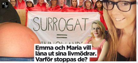 KIT.se För en del personer är surrogatmödraskap det enda möjliga sättet att få barn - Nordic Surrgacy