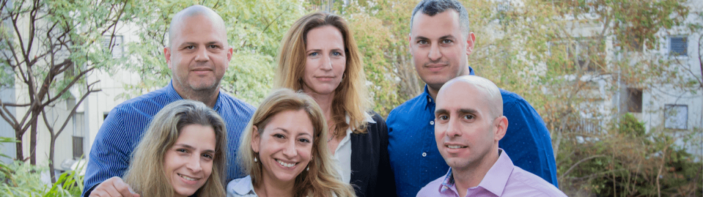 Vårt internationella team i Tel Aviv