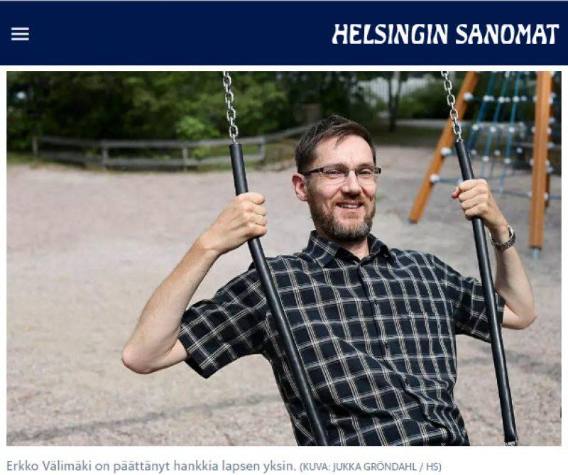 Erkko Välimäki aikoo hankkia lapsen ulkomailta sijaissynnytyksen avulla - Nordic Surrogacy