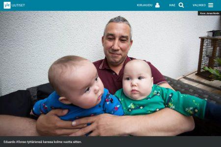 Sinkkumiehestä tuli kaksostyttöjen isä sijaissynnyttäjän avulla – nyt ruotsalaisvälittäjä markkinoi kiistanalaisia sijaissynnytyksiä myös suomalaisille
