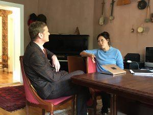 Staffan Sörenson intervjuas av Lena ten Hoopen på Uppdrag Granskning - Nordic Surrogacy