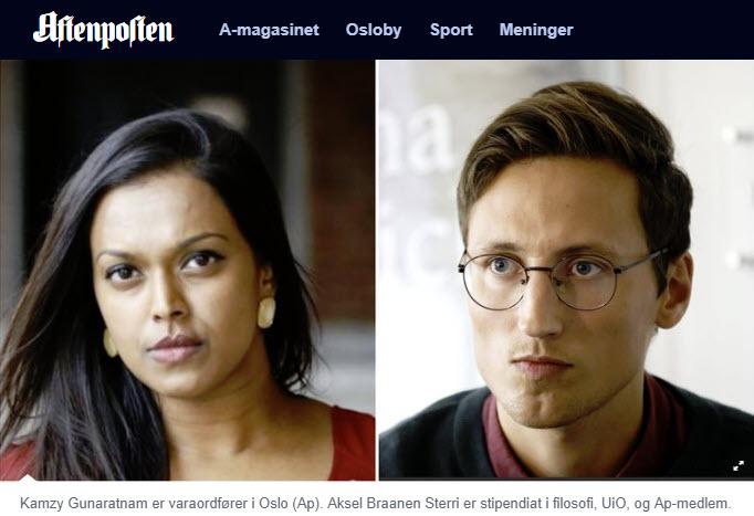 Aftenposten - Tillat surrogat sier Arbeiderpartiets Kamzy Gunaratnam og Aksel Braanen Sterri -Nordic Surrogacy