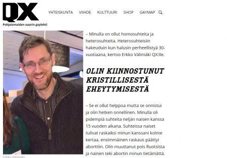 QX.fi - Erkko halusi isäksi, mutta se oli homomiehelle vaikeaa - ratkaisuksi löytyi sijaissynnytys - Nordic Surrgacy