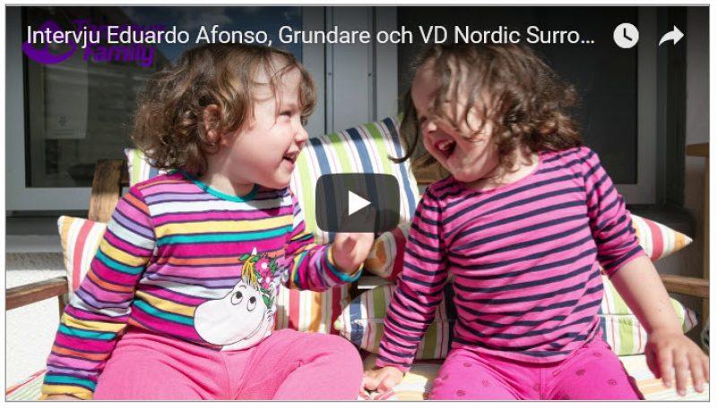 Ett surrogatbarn i veckan till norge