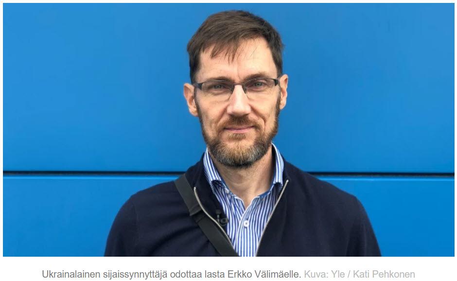 Yle.fi - MOT - Ukrainalainen sijaissynnyttäjä odottaa lasta Erkko Välimäelle - Nordic Surrogacy