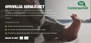 Centerpartiet om surrogatmödraskap - Nordic Surrogacy