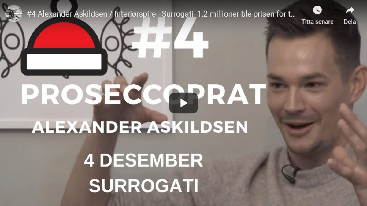 Sebastian Solberg diskuterer suroogati med Alexander Askildsen