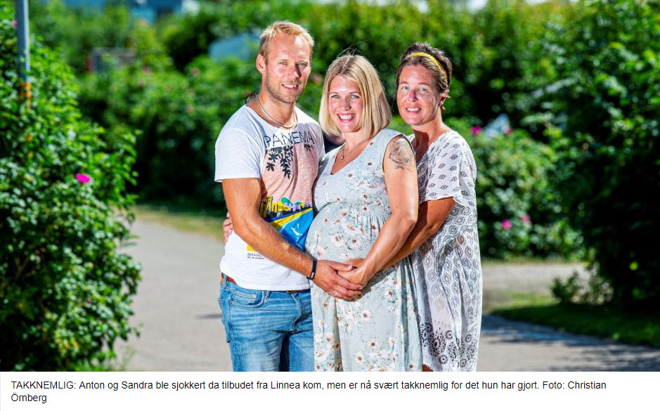 Linnea er surrogatmor med sin brors barn - Nordic Surrogacy