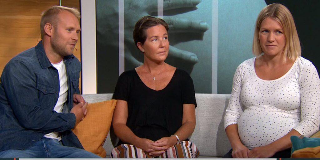 Linnea, 32, är surrogatmamma till sin bror