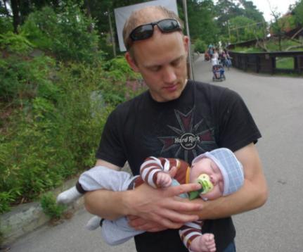 Morten (34) ble alenepappa ved hjelp av surrogati - Nordic Surrogacy