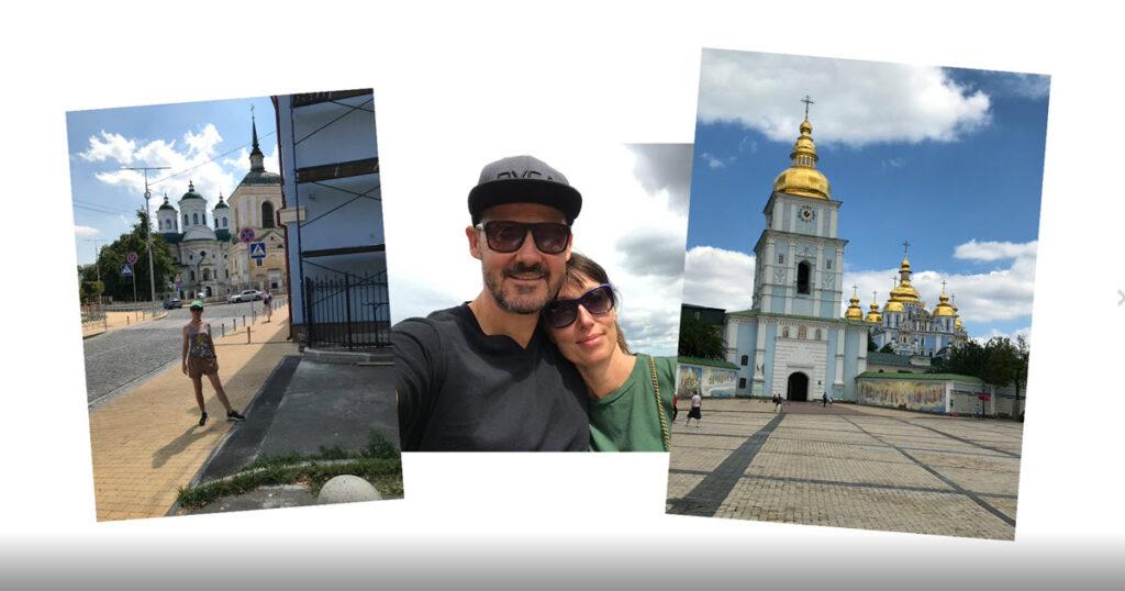 Thomas och Gunhild som turister i Kiev - Nordic Surrogacy