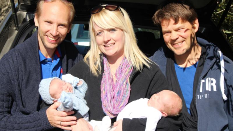 Surrogatmamman Shelly gav oss våra barn - Nordic Surrogacy