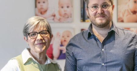 Ingegärd och Jonas medarbetare på Nordic Surrogacy